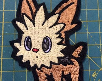 Pokemon Lillipup iron-on patch