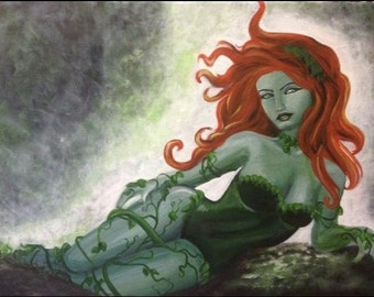 POISON IVY painting
