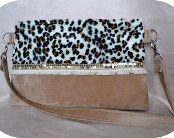 """Animal """"Print"""" handbag"""