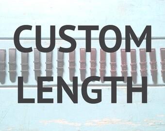 Custom strap length