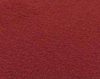 Ruby Red Felt Sheets - 6 pcs - Rainbow Classic Eco Fi Craft Felt Supplies