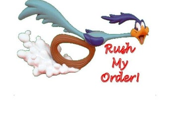 RUSH My SHIRT ORDER!! If you need in less than 1 week!!