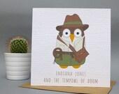 Indiana Jones and the Tempowl of Doom Card