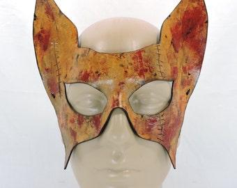 Batman Inspired Mask - Stitches & Blood - Catwoman mask