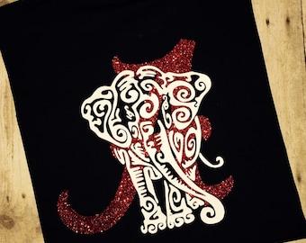 Alabama Tee, Elephant Scroll Design