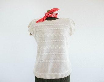Vintage Knit Top by Manor Park / Cos Cob