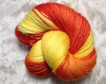 "MCN 80/10/10 Sock Yarn ""Sunrise"""