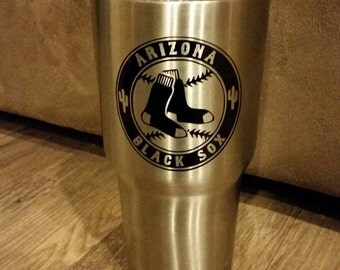 Personalized stainless steel mugs, 20oz and 32oz