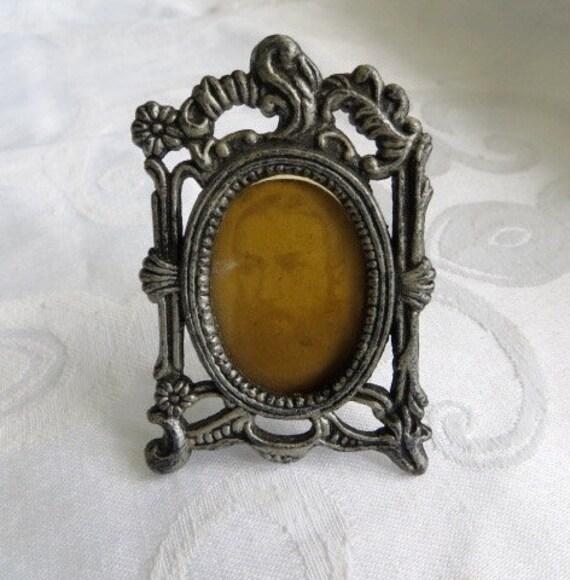 mini picture frame pewter vanity photo frame silver. Black Bedroom Furniture Sets. Home Design Ideas
