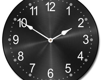 Heavy Metal Black Clock