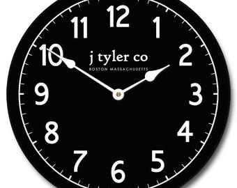 New Traditional Black Clock