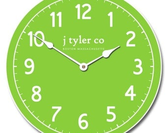 New Traditional Lime Clock