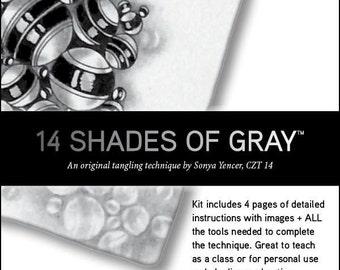 "The ""14 Shades of Gray"" Kit"