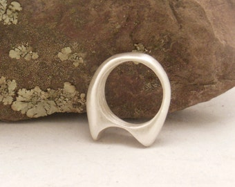 Silver cast Ring Size 6