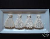 90  brides dress cookies