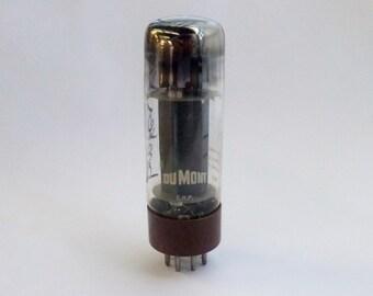 Amperex EL34 vacuum tube - brown base - broken guide pin