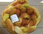 Cheviot, spinning fiber, combed top, wool 4 oz, hand dyed, felting, spinning, spin, felt, C107/C108