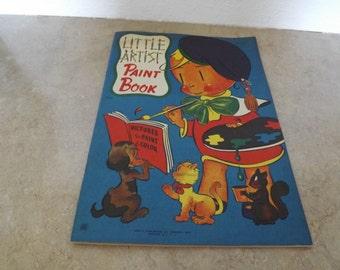 Little Artist Paint Book