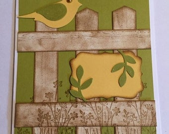 Stampin' Up! Bird card