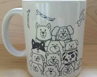 "Mug - ""DOG LOVERS"""
