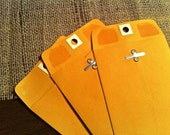 """50 Manilla Kraft Envelope with Clasp, 4"""" x 6 3/8"""" for Annie"""