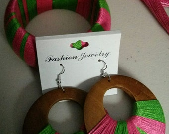 A.K.A Inspired Bracelet and Earring Set