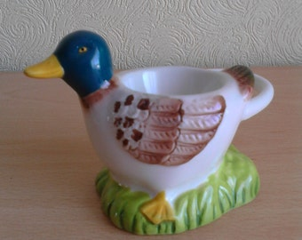 Ceramic Duck Egg Cup Homewares Kitchenwares 80s/90s