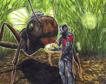 Man and Ant