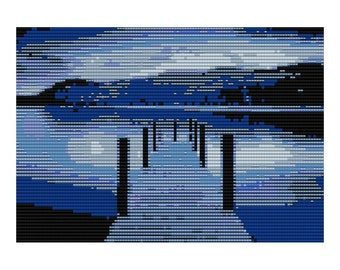 Lake Loom Tapestry