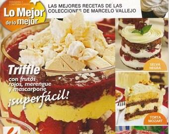 On Sale!!!! Magazine - DESERT TABLE - Mesa Dulce by Marcelo Vallejo (Spanish) - RETIRED