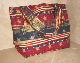 Stars and Stripes Forever Tote Bag