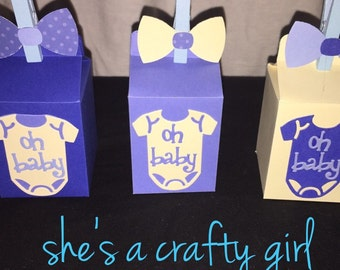Milk carton party favors
