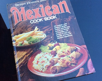 Vintage Better Homes and Gardens Mexican Cookbook