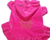 Pink with a Embrodiered Gold Crown