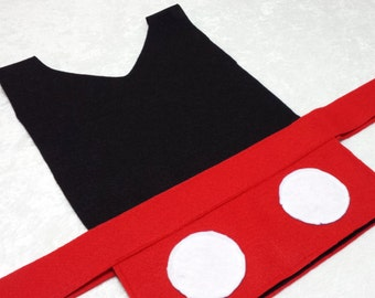 Mickey Mouse Costume Tunic