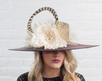 Kentucky Derby Hat Fascinator - CH2016-003