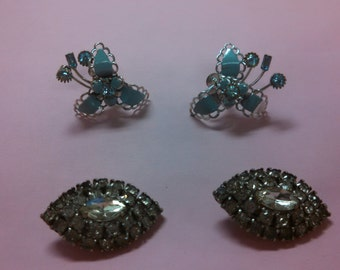 Vintage Earrings for Repairs or Crafts