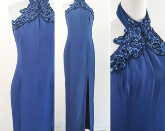 80s Prom Dress 80s Clothing 80s 80s Dress 80s Party DRESS PROM Dress MAXI Dress Prom Evening Gown Evening Dress Vintage Evening Gown Gown 8