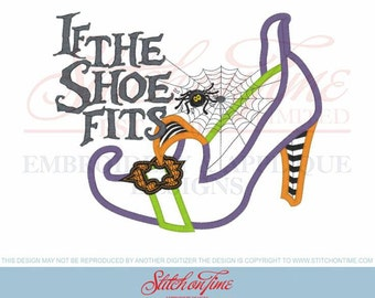 Sample Sale.. If the shoe fits Embroidered shirt