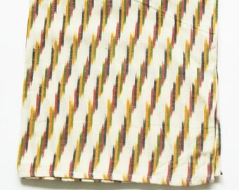 Cream Stripe Cloth Dinner Napkins- Set of 4- Wedding Gift- Gift for Cook