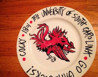 University of South Carolina Plate
