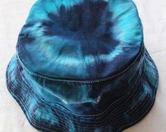 Tie dyed Sun hat L/XL