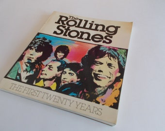 Vintage Rolling Stones The First Twenty Years Book