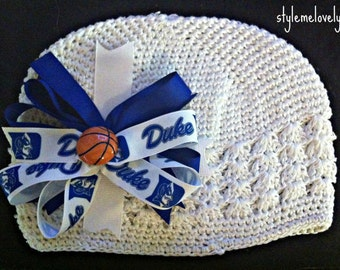Duke University Blue Devils Bow Hat