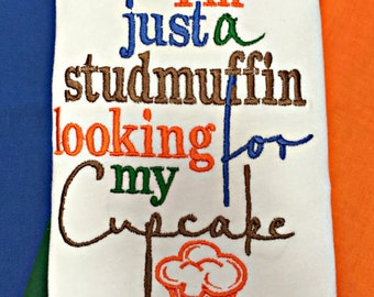 Im just a Studmuffin looking for my Cupcake Baby Boy Shirt