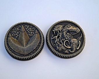 Legacy 2013 Morpher Special Edition Ranger Dragon Power Coin Prop + FREE Coin