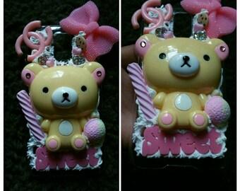 Sweet whipped bear Samsung galaxy s5 case