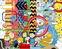 Snoopy & Charlie Brown Scrapbook Kit