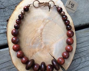 Golden Redwoods Bracelet