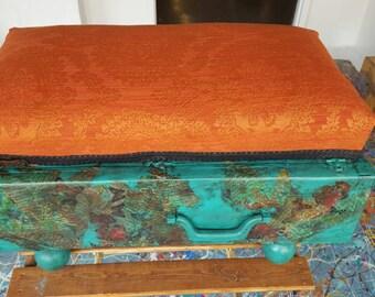 Upcycled Photographer's Case Luggage Bench